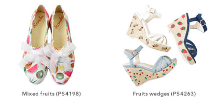 Mixed fruits (PS4198) Fruits wedges(PS4263)